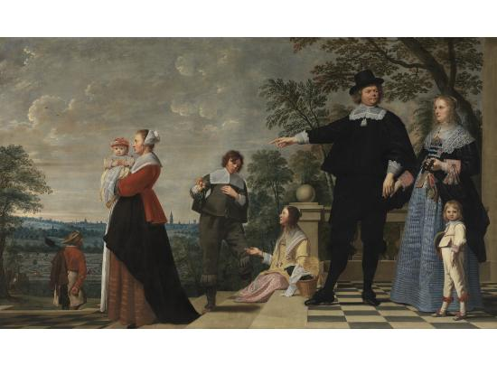 Portrait of a Bruges family