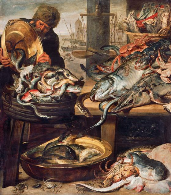 Fishmarket in Antwerp