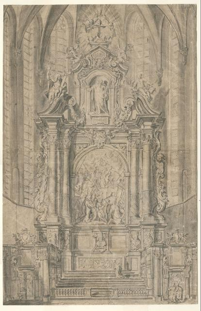 The high altar for St Paul's Church in Antwerp