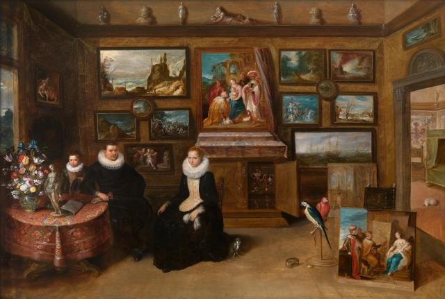 "The Collection of paintings ""of Sebastiaan Leerse"""