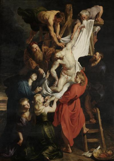Peter Paul Rubens, Descent from the Cross, Cathedral of Our Lady, Antwerp