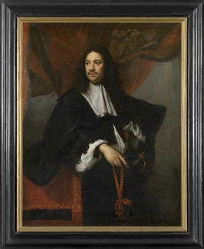 Portrait of Jan-Filips van Boonem, Dean of the Guild of St. George in Bruges