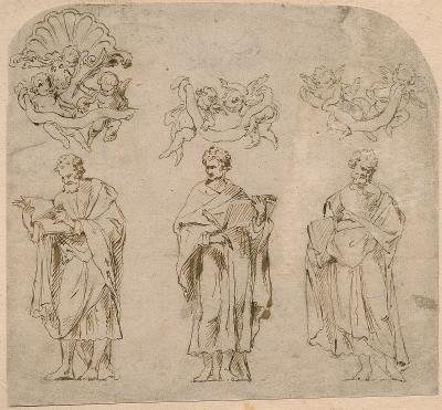 Three evangelists