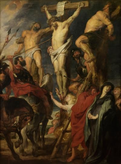 "Christ on the Cross, so-called ""Le coup de lance"""