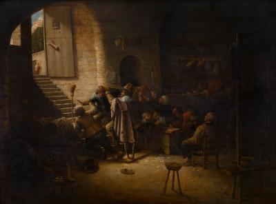 """The Antwerp Arms"", Tavern Scene"