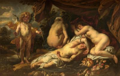 The sleeping Venus